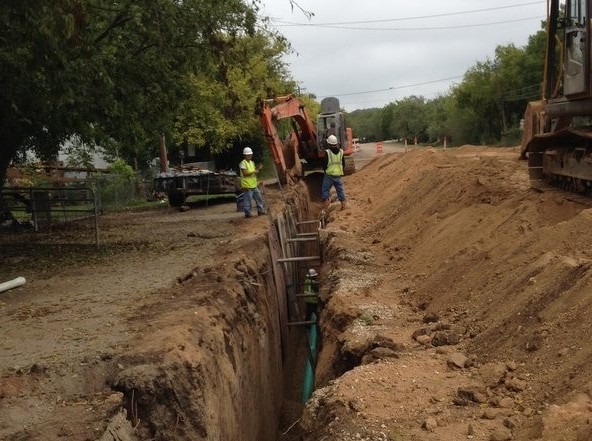 Central and Eastside Wastewater Collection Project – Ingram, TX
