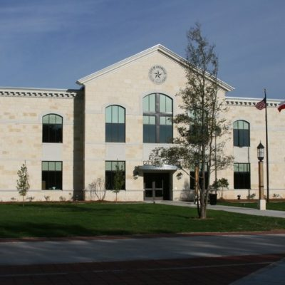 Kerrville City Hall and Peterson Plaza - City of Kerrville, 2011