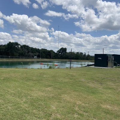 City of Kerrville Sports Center Reclaimed Wastewater Pond