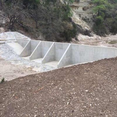 Upper Guadalupe River Authority Water & Sediment Control Basins