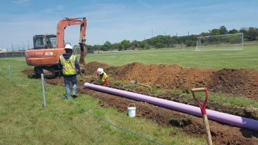 Schreiner University Reclaimed Wastewater Distribution Line Design – Kerrville, TX