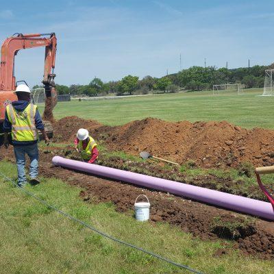 Schreiner University Reclaimed Wastewater Distribution Line Design
